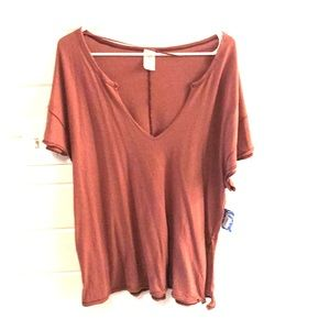 NWT FREE PEOPLE shirt